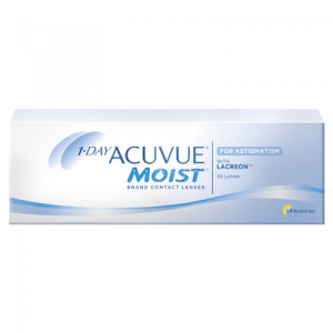 1-Day Acuvue Moist for Astigmatism - 30 Pairs