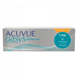 Acuvue Oasys 1 Day Astigmatism - 30 Pairs