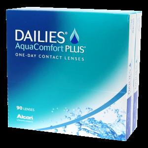 Dailies Aqua Comfort Plus - 180 Pairs