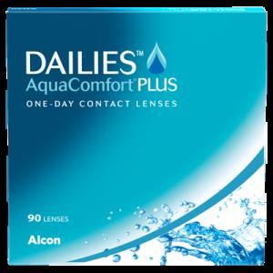 Dailies Aqua Comfort Plus - 90 Pairs