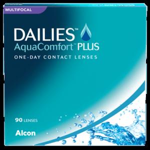 Dailies Aqua Comfort Plus Multifocal - 90 Pairs