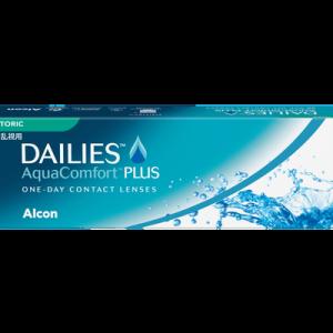 Dailies Aqua Comfort Plus Toric - 30 Pairs
