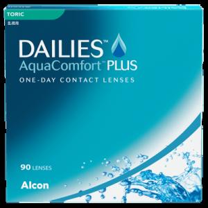 Dailies Aqua Comfort Plus Toric - 90 Pairs